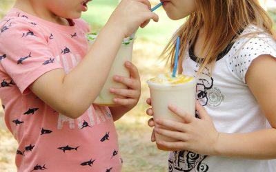 תזונה בריאה עם מחלות מעיים לתלמידי בית ספר