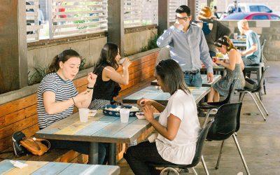 איך להתארגן על אכילה מחוץ לבית