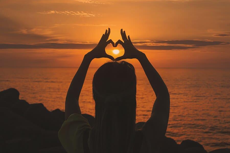 להרגיע את הבטן דרך הלב